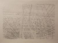encre sur papier, 90 x 70 cm