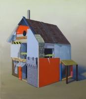 100 x 115cm acrylique sur toile